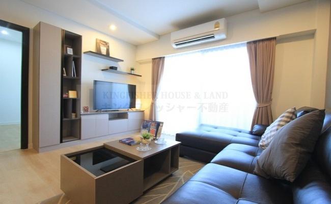 2 Bedrooms, Serviced Apartment, For Rent, 1 Bathrooms, Listing ID 1116, Sriracha, Chonburi, Thailand,