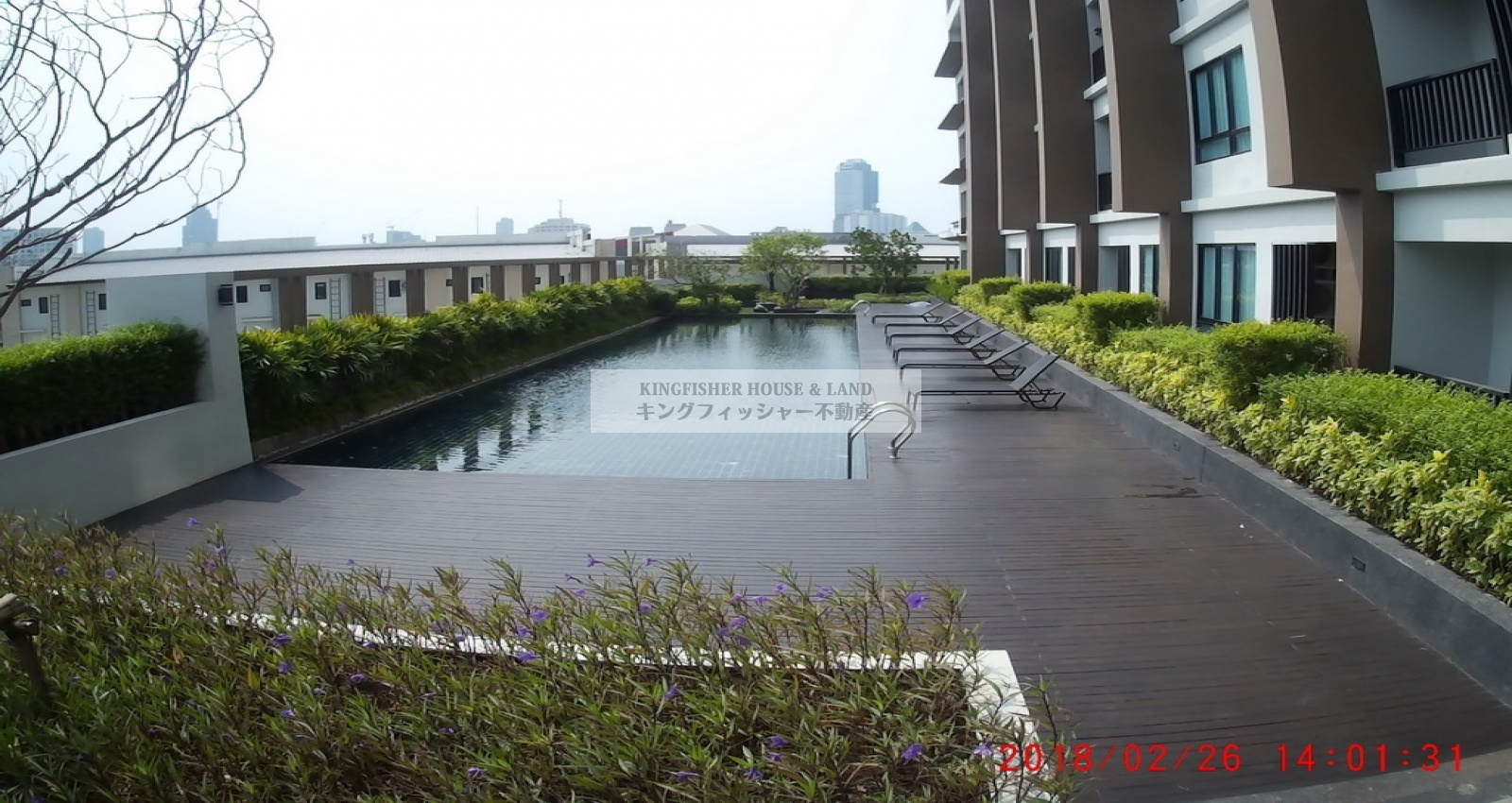 1 Bedrooms, Condominium, For Rent, 1 Bathrooms, Listing ID 1209, Sriracha, Thailand, 20110,