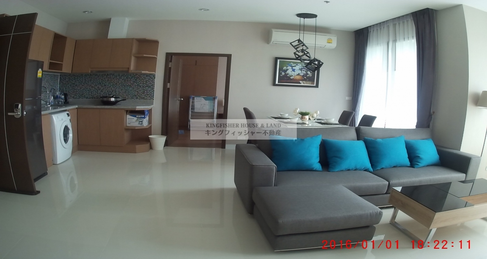 2 Bedrooms, Condominium, For Rent, 2 Bathrooms, Listing ID 1210, Sriracha, Thailand, 20110,