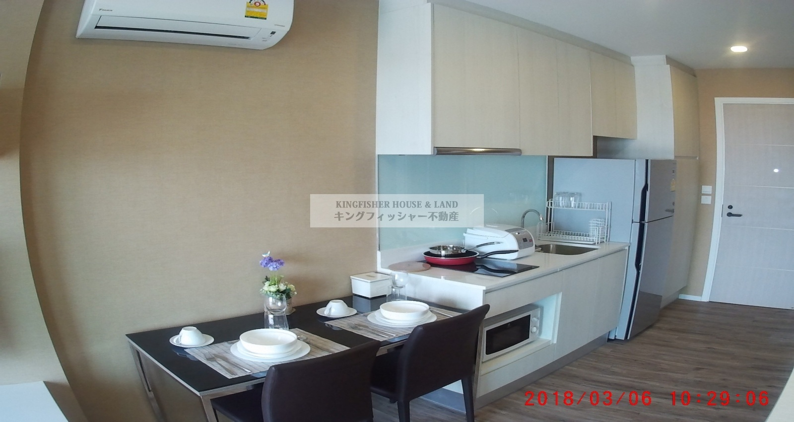 1 Bedrooms, Condominium, For Rent, 1 Bathrooms, Listing ID 1212, Sriracha, Thailand, 20110,