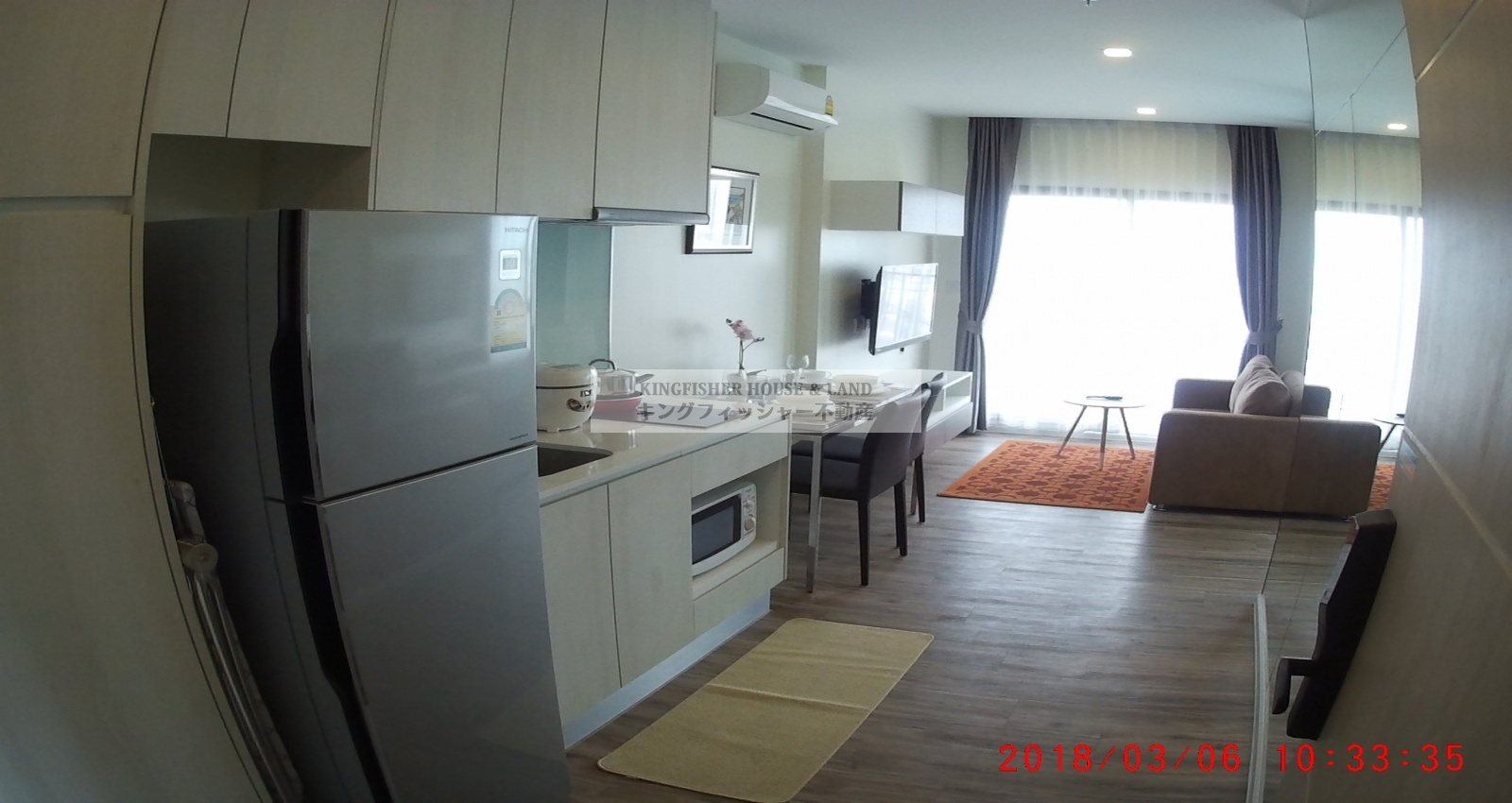 1 Bedrooms, Condominium, For Rent, 1 Bathrooms, Listing ID 1213, Sriracha, Thailand, 20110,