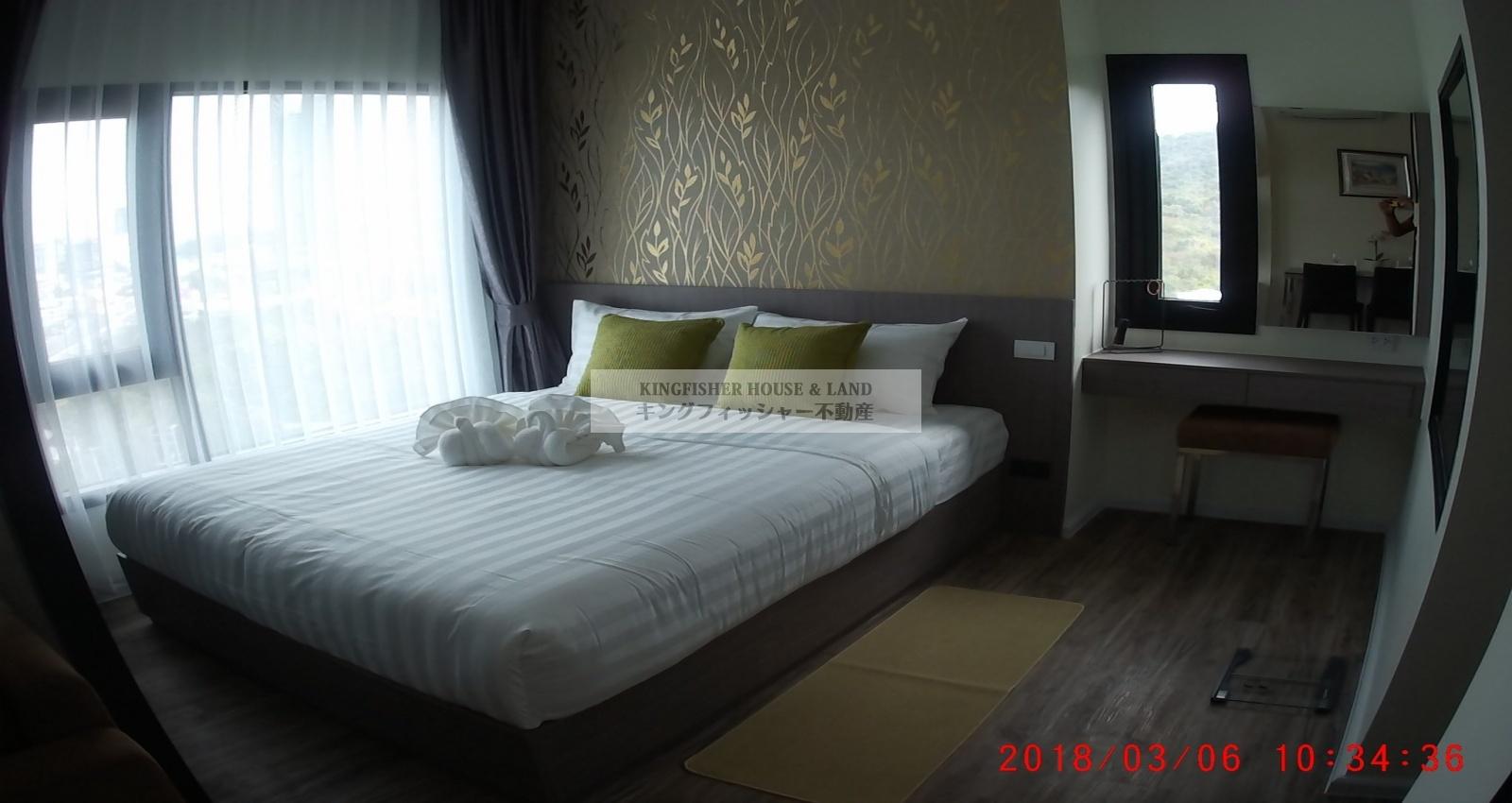 1 Bedrooms, Condominium, For Rent, 1 Bathrooms, Listing ID 1213, Sriracha, Thailand, 20110,