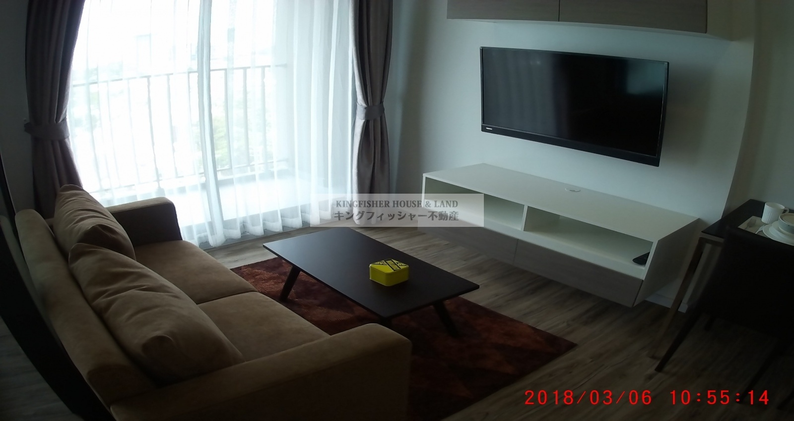 1 Bedrooms, Condominium, For Rent, 1 Bathrooms, Listing ID 1217, Sriracha, Thailand, 20110,