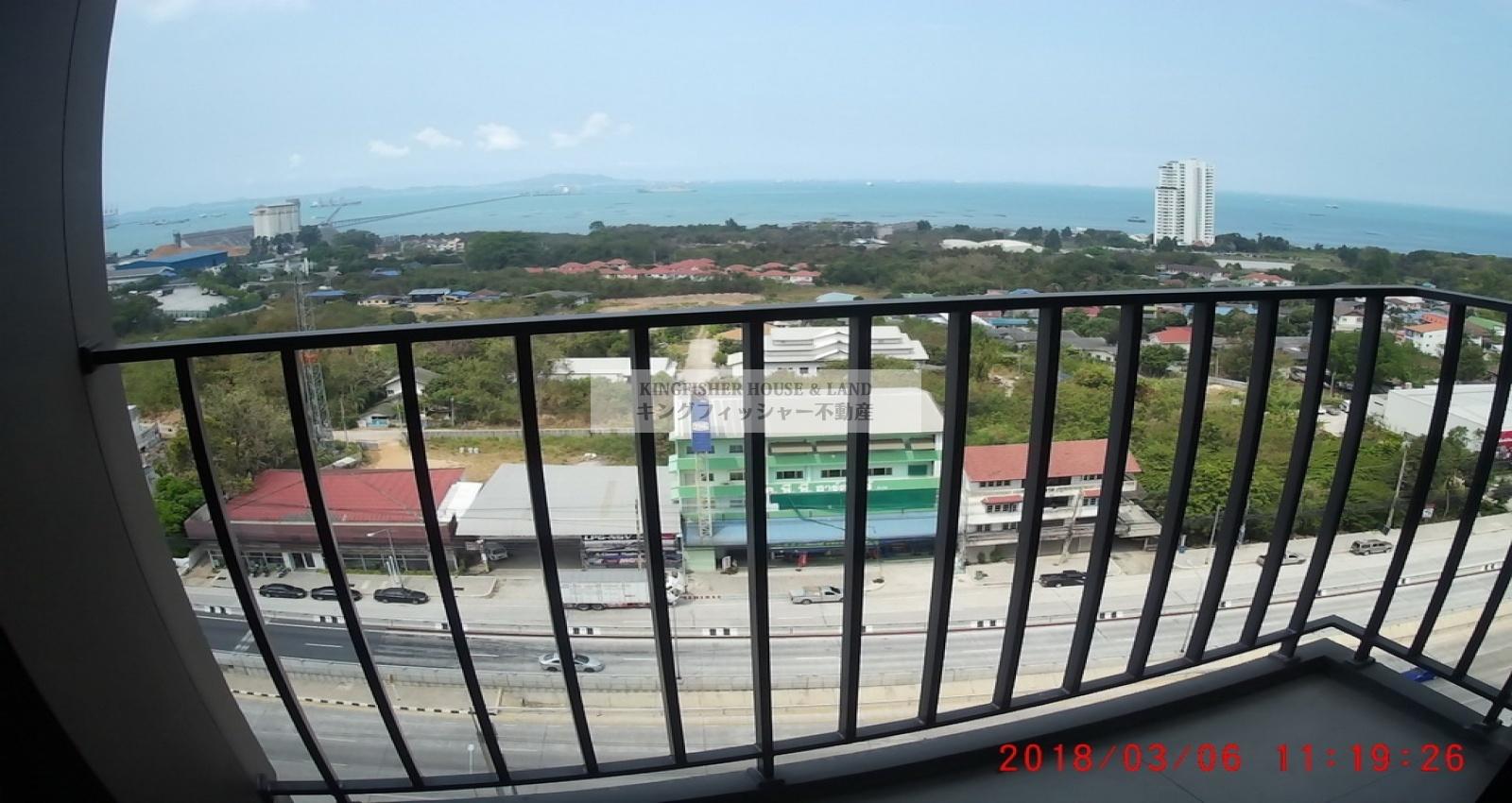 1 Bedrooms, Condominium, For Rent, 1 Bathrooms, Listing ID 1220, Sriracha, Thailand, 20110,