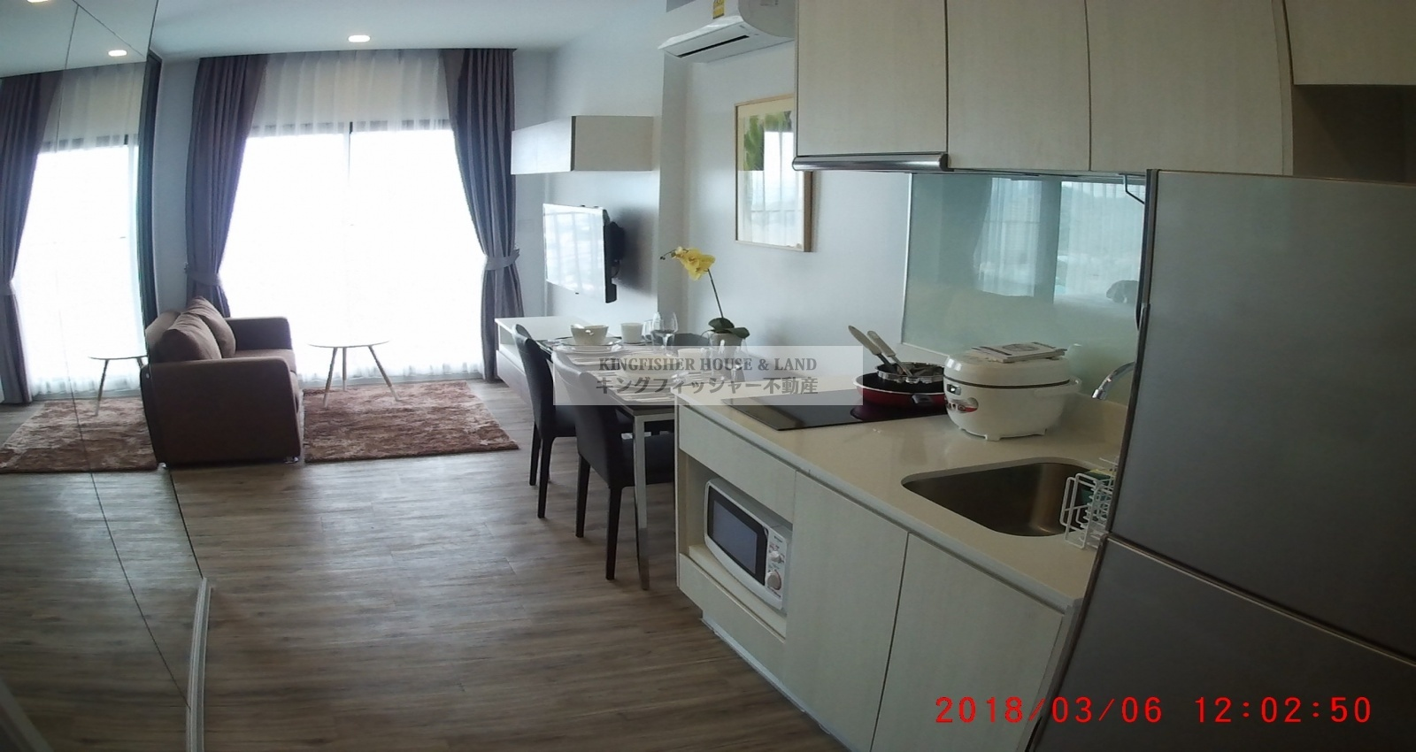 1 Bedrooms, Condominium, For Rent, 1 Bathrooms, Listing ID 1227, Sriracha, Chonburi, Thailand, 20110,
