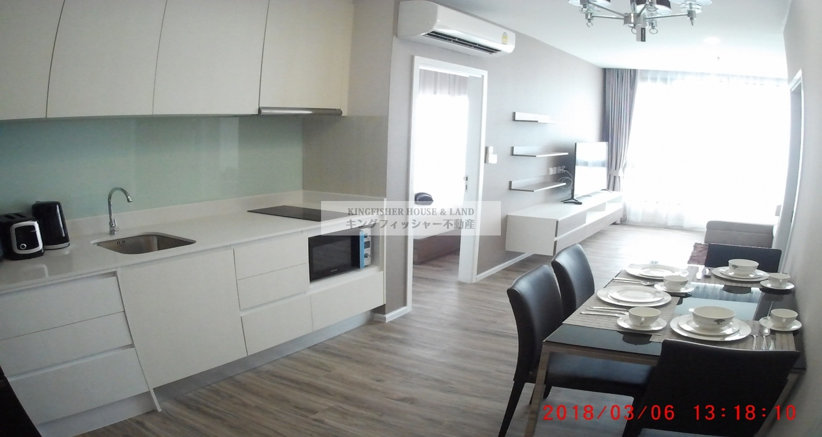 2 Bedrooms, Condominium, For Rent, 2 Bathrooms, Listing ID 1231, Sriracha, Thailand, 20110,