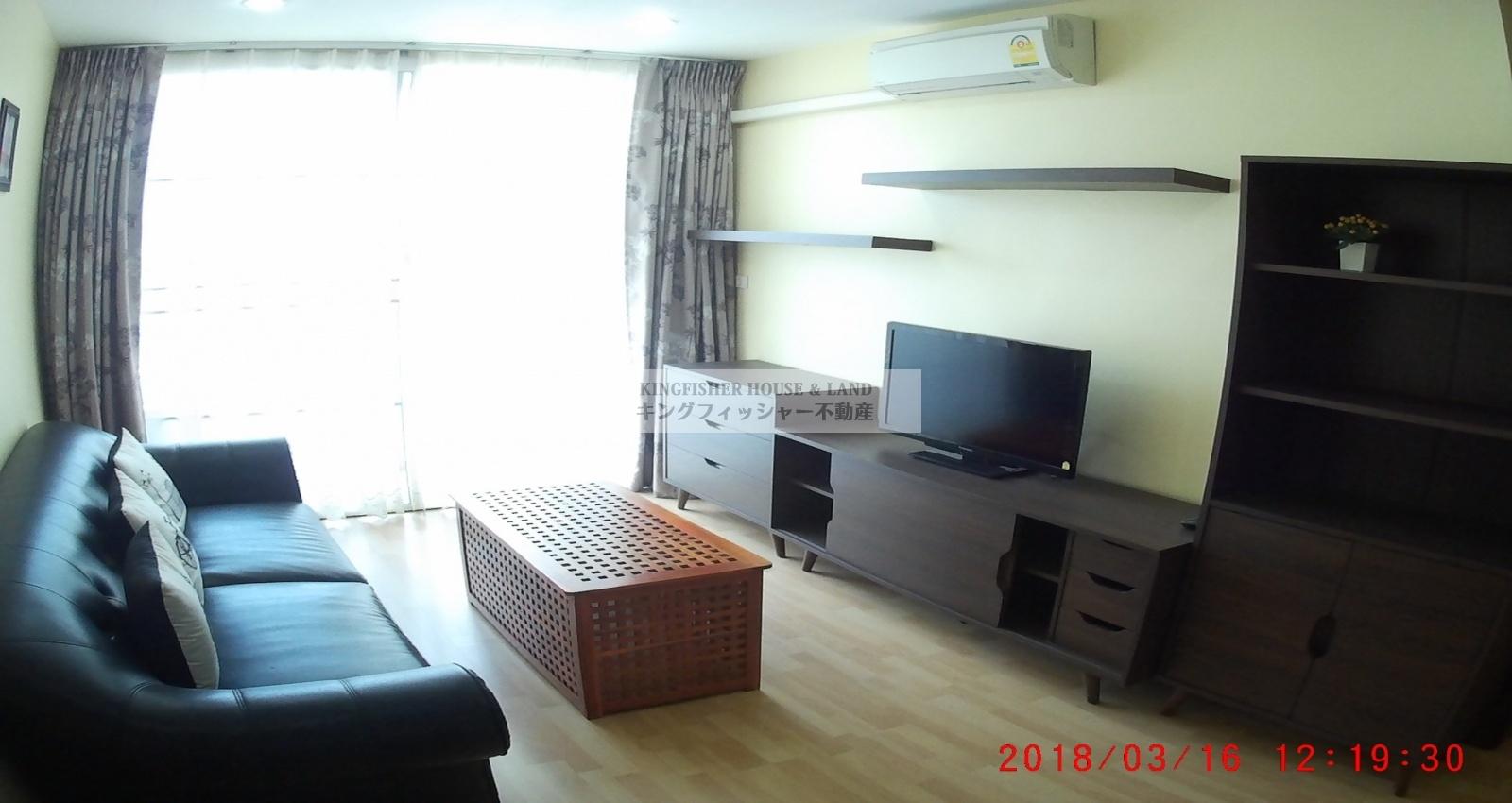 1 Bedrooms, Condominium, For Rent, 1 Bathrooms, Listing ID 1233, Sriracha, Thailand, 20110,