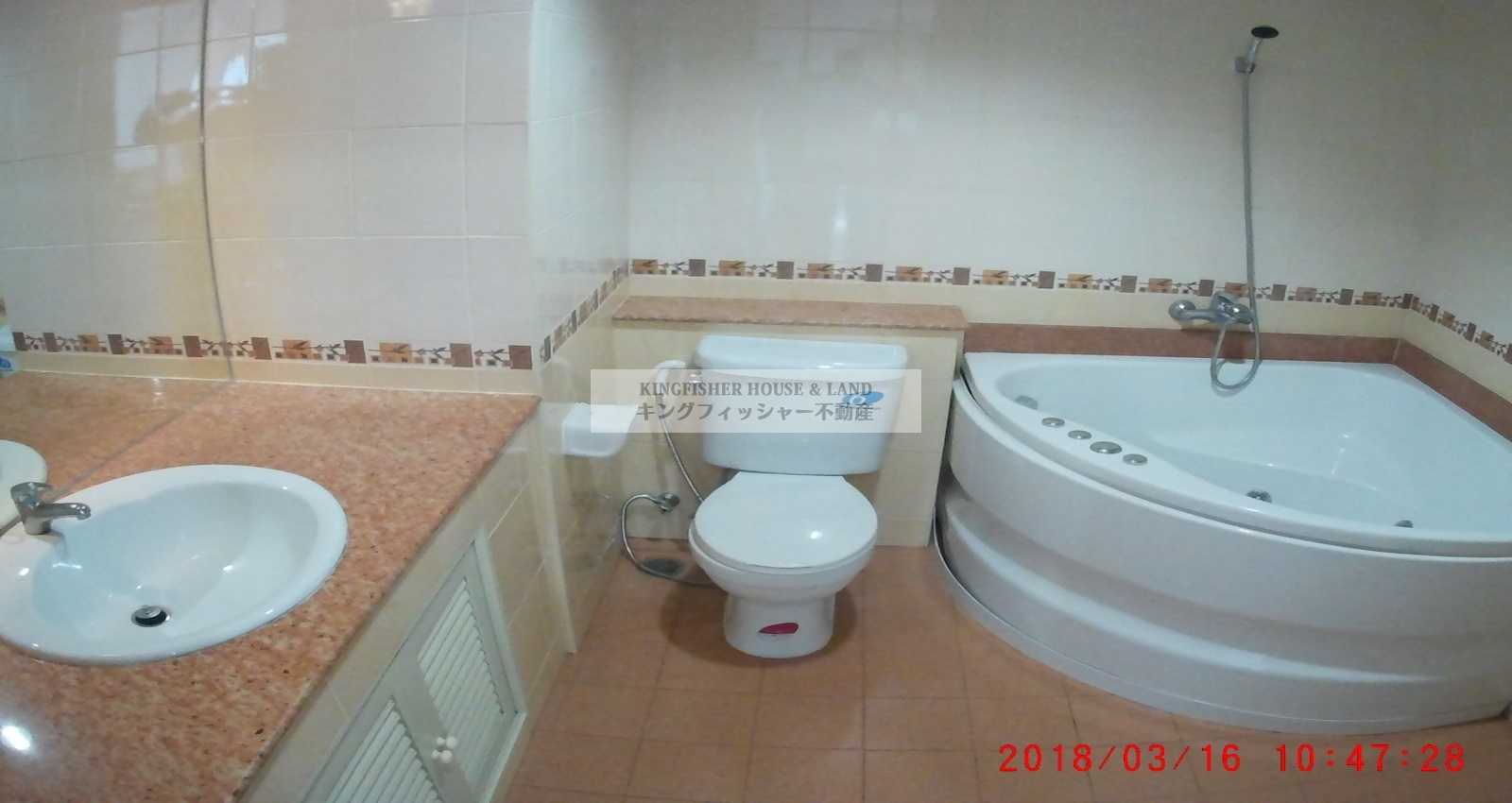 2 Bedrooms, Condominium, For Rent, 2 Bathrooms, Listing ID 1238, Sriracha, Thailand, 20110,
