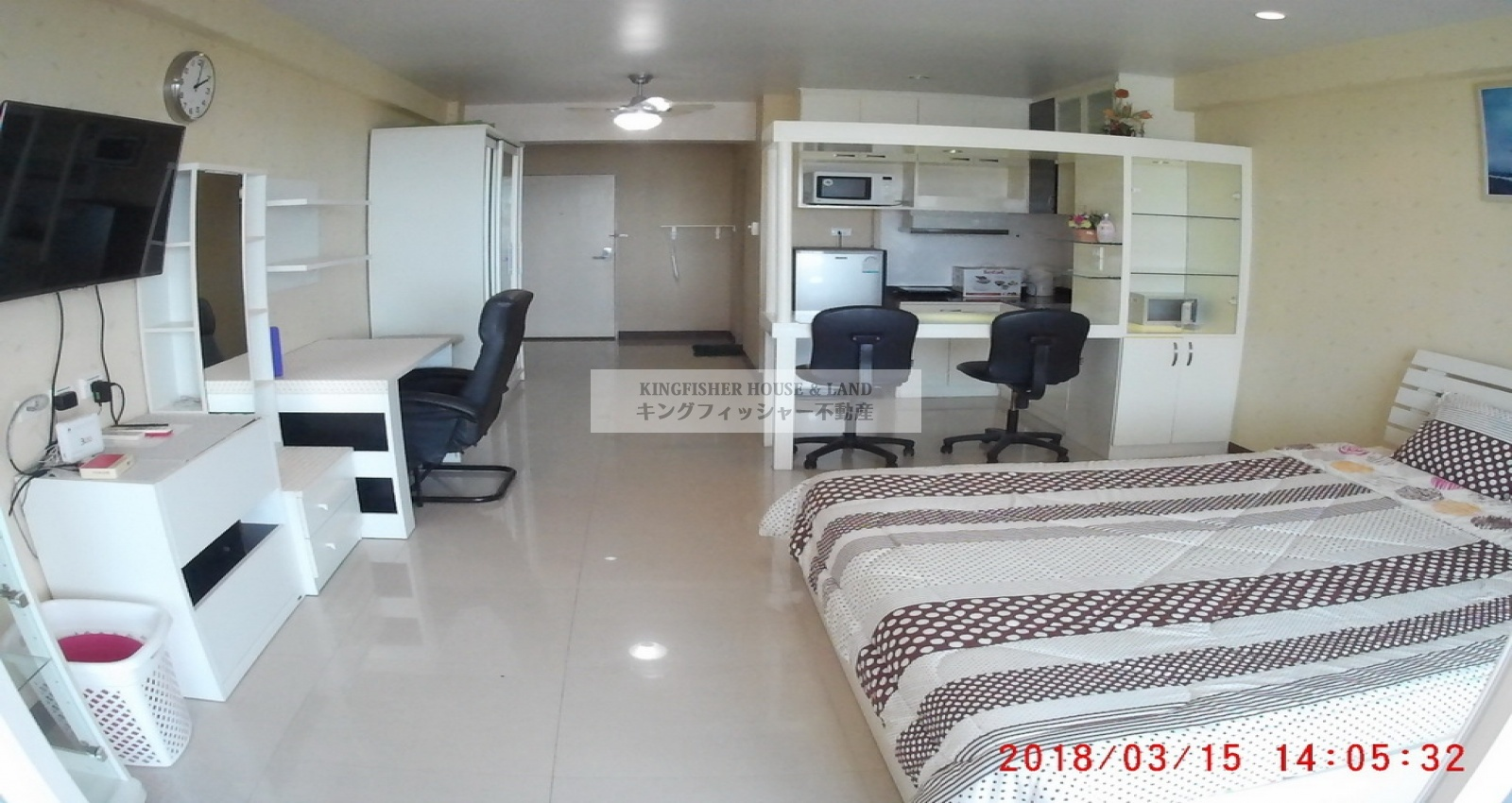 1 Bedrooms, Condominium, For Rent, 1 Bathrooms, Listing ID 1244, Sriracha, Thailand, 20110,