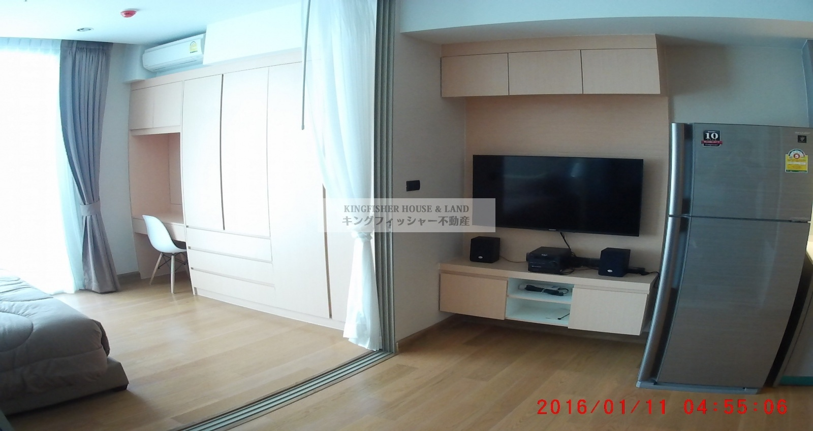 1 Bedrooms, Condominium, For Rent, 1 Bathrooms, Listing ID 1251, Sriracha, Thailand, 20110,