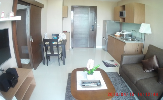 1 Bedrooms, Condominium, For Rent, 1 Bathrooms, Listing ID 1254, Sriracha, Thailand, 20110,