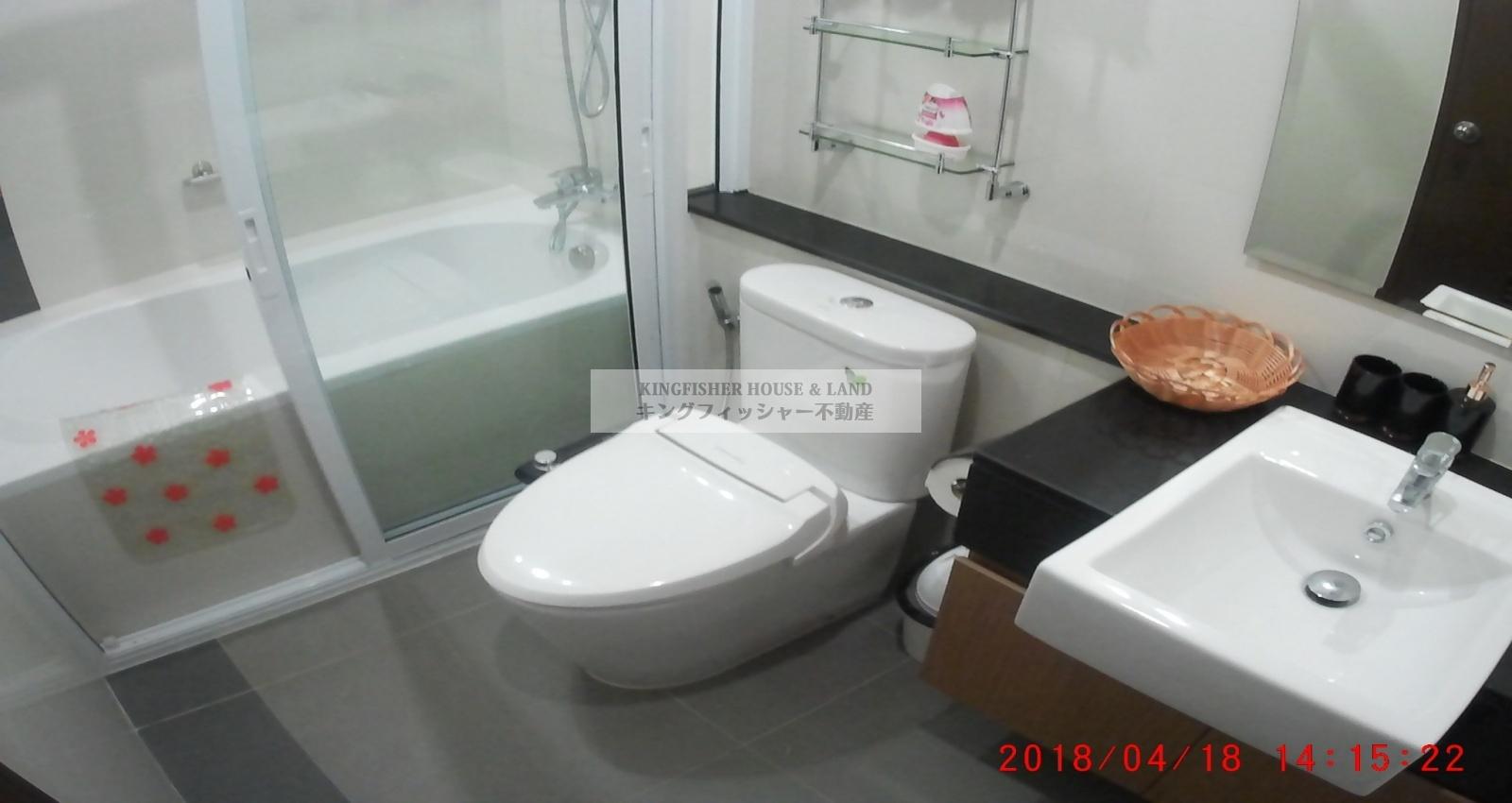 1 Bedrooms, Condominium, For Rent, 1 Bathrooms, Listing ID 1254, Sriracha, Thailand, 20110,