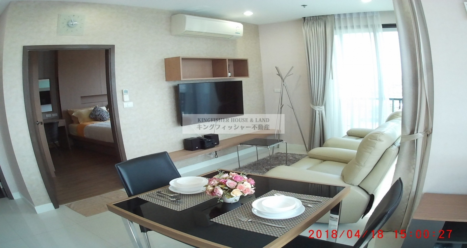 1 Bedrooms, Condominium, For Rent, 1 Bathrooms, Listing ID 1256, Sriracha, Thailand, 20110,