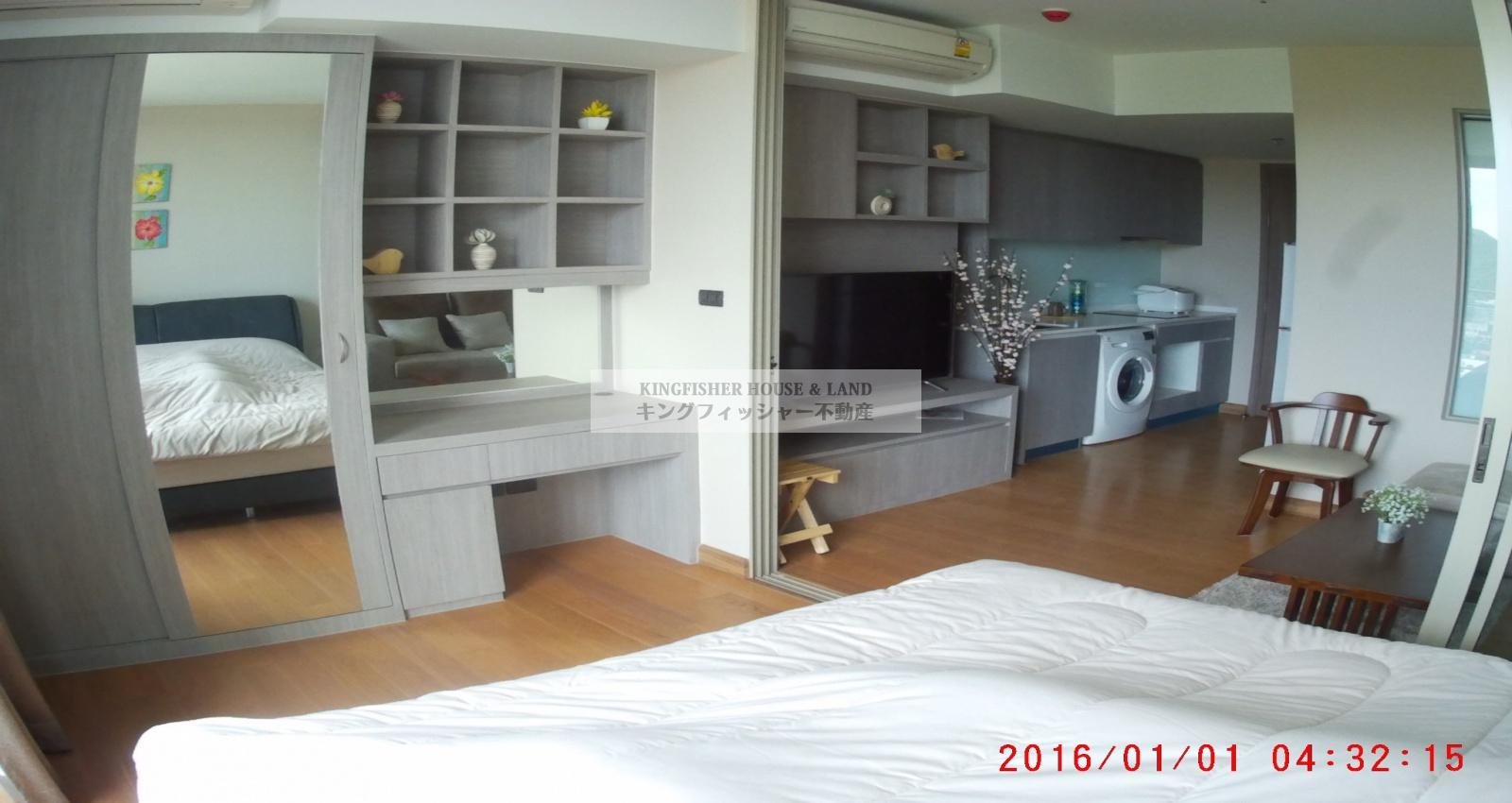 Sriracha, Thailand 20110, 1 ベッドルーム ベッドルーム, ,1 Bathroomバスルーム,コンドミニアム,賃貸物件,1312
