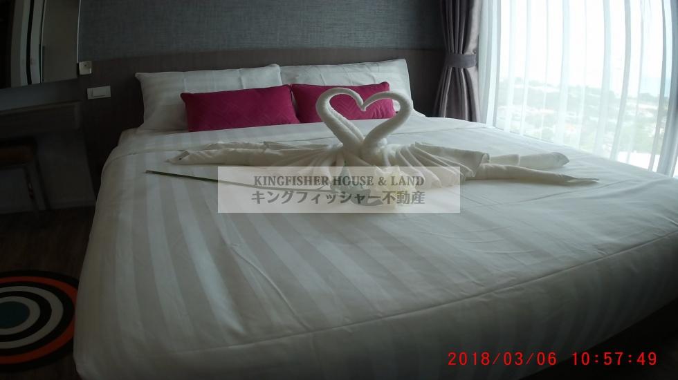 シラチャ, 20110, 1 ベッドルーム ベッドルーム, ,1 バスルームバスルーム,コンドミニアム,シラチャ,1217
