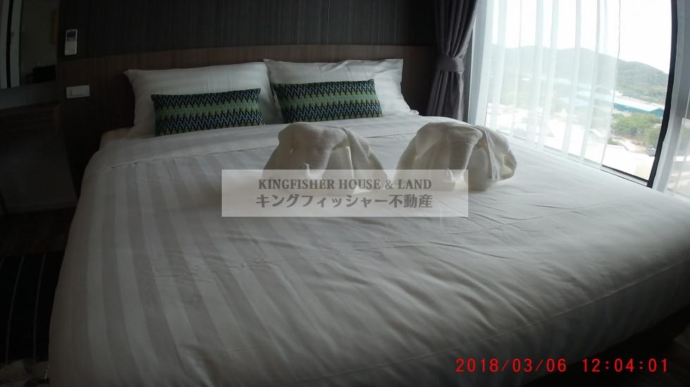シラチャ, 20110, 1 ベッドルーム ベッドルーム, ,1 バスルームバスルーム,コンドミニアム,シラチャ,1227