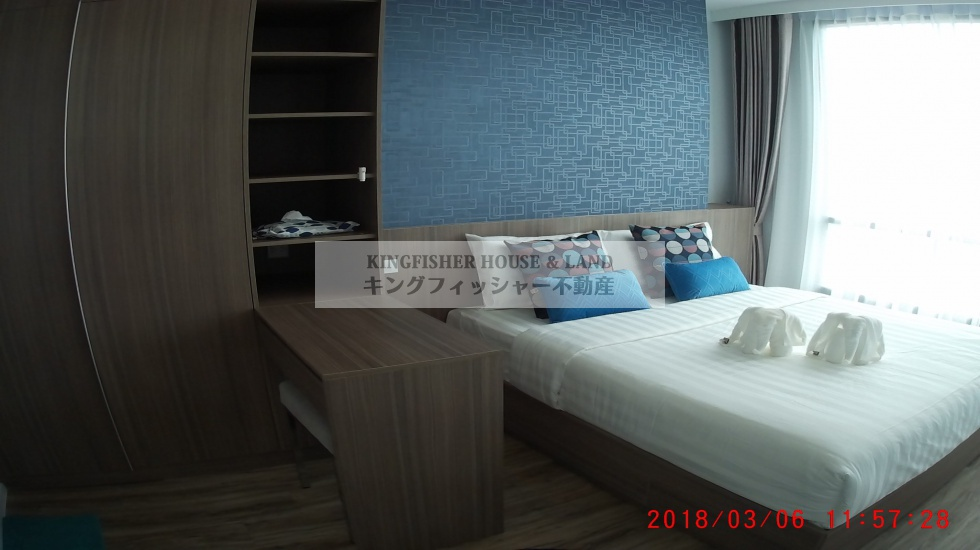 シラチャ, 20110, 2 ベッドルーム ベッドルーム, ,2 バスルームバスルーム,コンドミニアム,シラチャ,1229