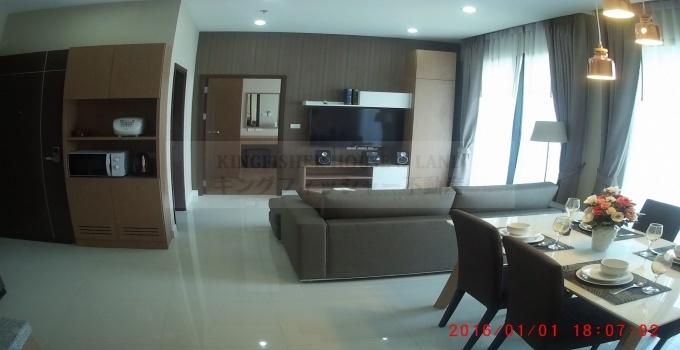 2 Bedrooms, Condominium, For Rent, 2 Bathrooms, Listing ID 1247, Sriracha, Thailand, 20110,