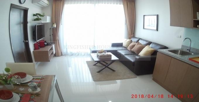 1 Bedrooms, Condominium, For Rent, 1 Bathrooms, Listing ID 1255, Sriracha, Chonburi, Thailand, 20110,